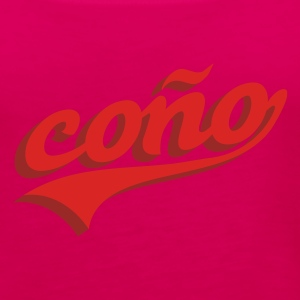 Coño T-Shirts - Women's Premium Tank Top