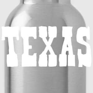 Texas T-shirt - Water Bottle