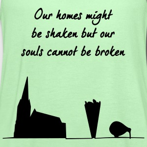 Christchurch earthquake relief t-shirts T-Shirts - Women's Flowy Tank Top by Bella