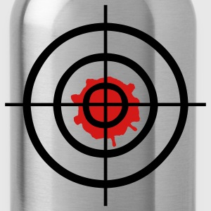 Target - crosshair T-Shirts - Water Bottle