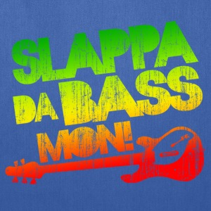 Slappa Da Bass Mon! Distressed - Tote Bag