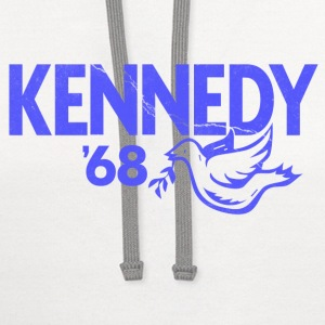 Kennedy 1968 President T-Shirts - Contrast Hoodie