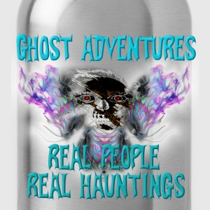 Ghost Adventures Real People Real Huntings T-Shirt - Water Bottle