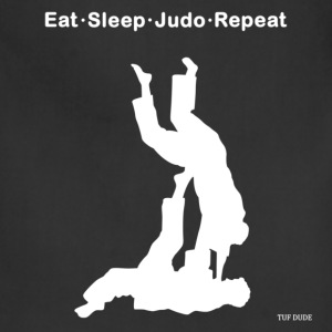 Eat Sleep Judo Repeat T-Shirts - Adjustable Apron