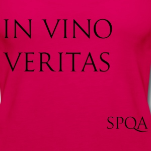 IN VINO VERITAS SPQA T-Shirts - Women's Premium Tank Top