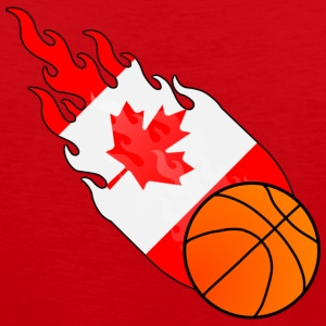 Fireball Basketball Canada T-Shirts - Men's Premium Tank