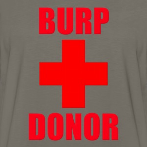 Burp Donor - Men's Premium Long Sleeve T-Shirt