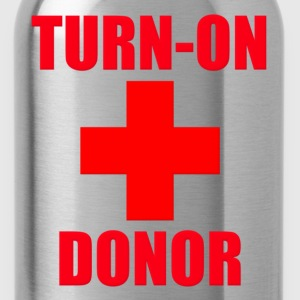 Turn-On Donor Kids' Shirts - Water Bottle