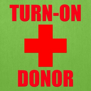 Turn-On Donor Kids' Shirts - Tote Bag