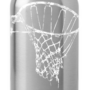 Basketball Net Used Look Retro T-Shirts - Water Bottle