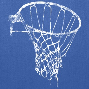 Basketball Net Used Look Retro T-Shirts - Tote Bag