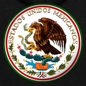 Estados Unidos Mexicanos - Unisex Fleece Zip Hoodie by American Apparel