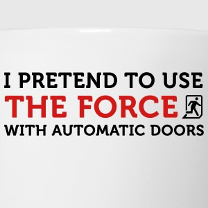 The Force Automatic Doors 2 (2c) T-Shirts - Coffee/Tea Mug