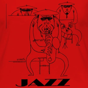 Jazz players Toddler Shirts - Women's Premium Long Sleeve T-Shirt