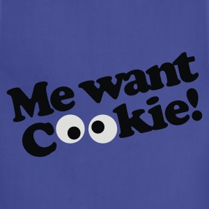Me want cookie! Kids' Shirts - Adjustable Apron