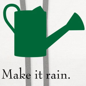 Make it Rain Watering Can T-shirt - Contrast Hoodie