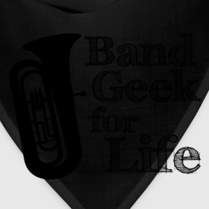 Tuba Band Geek for Life - Bandana