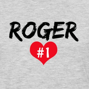 Roger number 1 T-Shirts - Men's Premium Long Sleeve T-Shirt