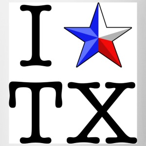 I Heart Texas T-shirt - Coffee/Tea Mug