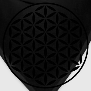 FLOWER OF LIFE - vector stamp | women's plus size  - Bandana