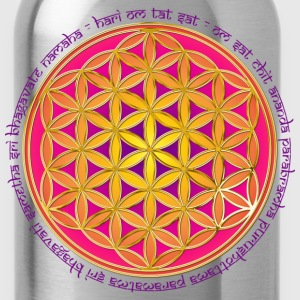 FLOWER OF LIFE - Moola Mantra | children's shirt - Water Bottle