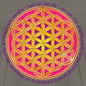 FLOWER OF LIFE - Moola Mantra | children's shirt - Men's Premium Long Sleeve T-Shirt