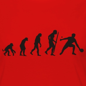 Evolution of Ping Pong/ table tennis T-Shirts - Women's Premium Long Sleeve T-Shirt