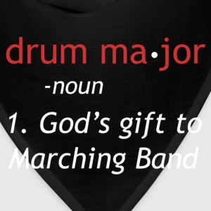Definition of a Drum Major - Bandana