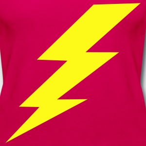 Lightning Bolt Plus Size - Women's Premium Tank Top