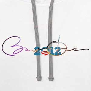 Obama for President 2012 - Contrast Hoodie