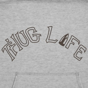 Thug Life Tattoo T-shirt - Sweatshirt Cinch Bag