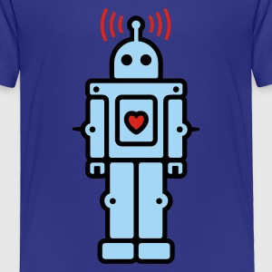 Love Robot Kids' Shirts - Toddler Premium T-Shirt