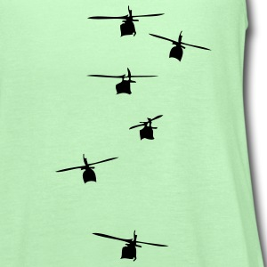 Helicopter Squadron T-Shirts - Women's Flowy Tank Top by Bella