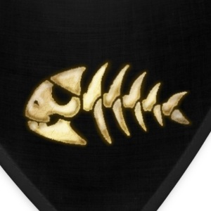 piratefish_bone T-Shirts - Bandana