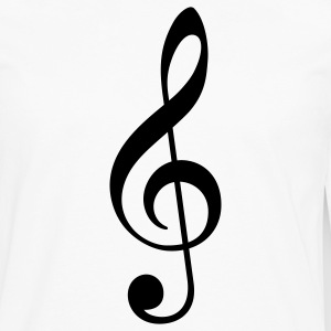 Treble Clef - Men's Premium Long Sleeve T-Shirt