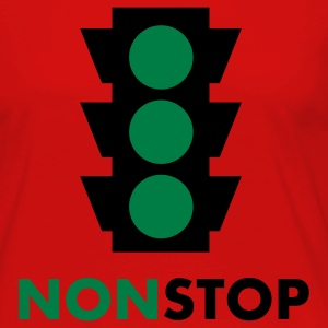 nonstop traffic light 2c T-Shirts - Women's Premium Long Sleeve T-Shirt