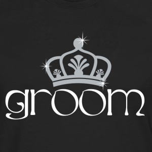 Groom King T-Shirts - Men's Premium Long Sleeve T-Shirt