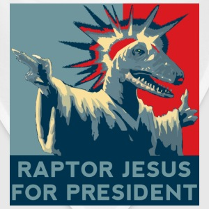 Raptor Jesus For President T-Shirts - Bandana