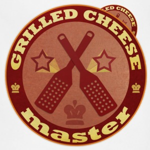 Grilled Cheese Master T-Shirt - Adjustable Apron