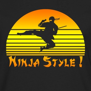 Ninja style - Men's Premium Long Sleeve T-Shirt