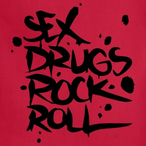 Sex Drugs Rock & Roll T-Shirts - Adjustable Apron