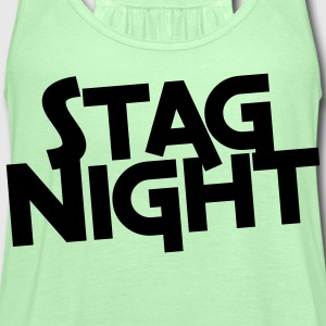 stag night T-Shirts - Women's Flowy Tank Top by Bella