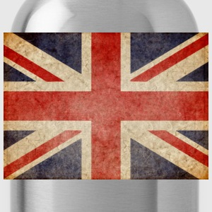 Faded UK Flag T-Shirts - Water Bottle