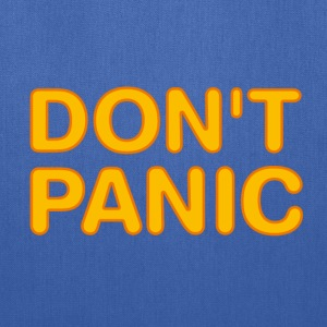 Don't panic (Hitchhikers Guide to the Galaxy) - Tote Bag