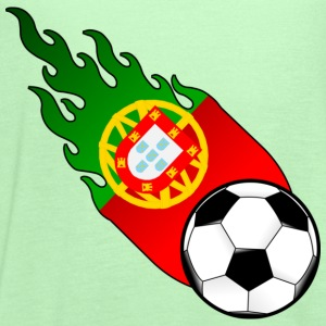 Fireball Football Portugal T-Shirts - Women's Flowy Tank Top by Bella