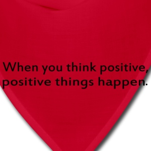 Think Positive - Bandana