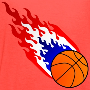 Fireball Basketball Holland T-Shirts - Women's Flowy Tank Top by Bella
