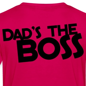 dad's the BOSS Kids' Shirts - Toddler Premium T-Shirt