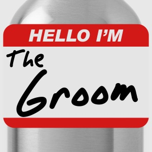 Hello I'm the Groom T-Shirts - Water Bottle