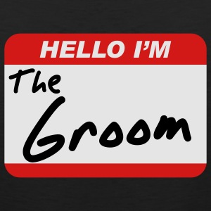 Hello I'm the Groom T-Shirts - Men's Premium Tank